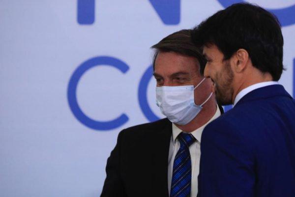 Faria e Bolsonaro