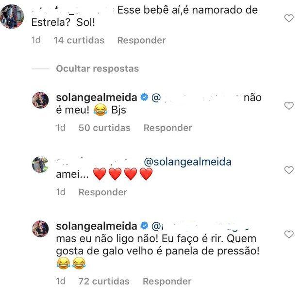 Solange Almeida dá patada em fã