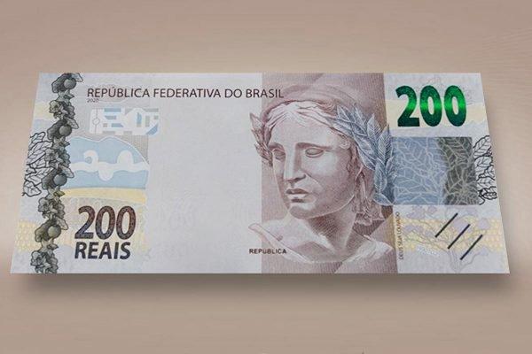 nova nota de R$ 200