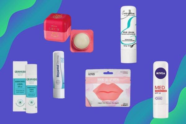 Vitrine M, lista de protetores labiais