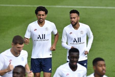 Marquinhos e Neymar