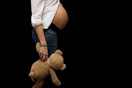 menina grávida