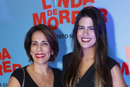 Antonia Morais e Gloria Pires