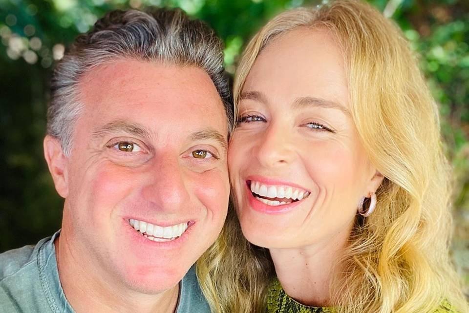 Luciano Huck e Angelica