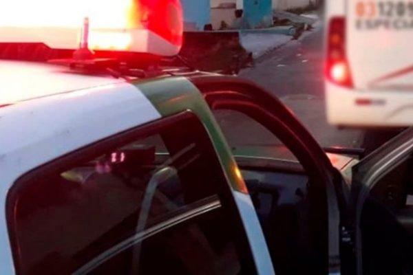 Carro de polícia em Manaus