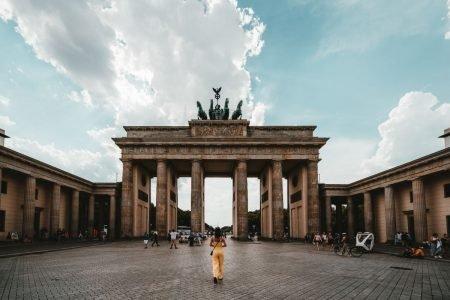 Turista em Berlim