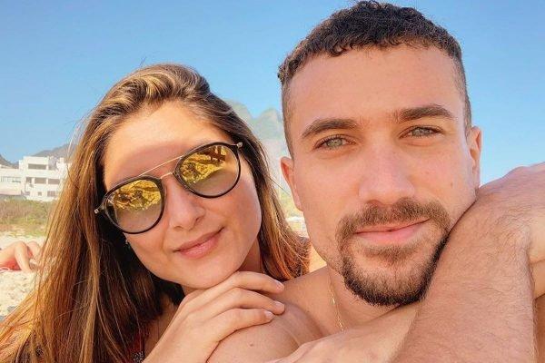 Ricardo Viana e a esposa