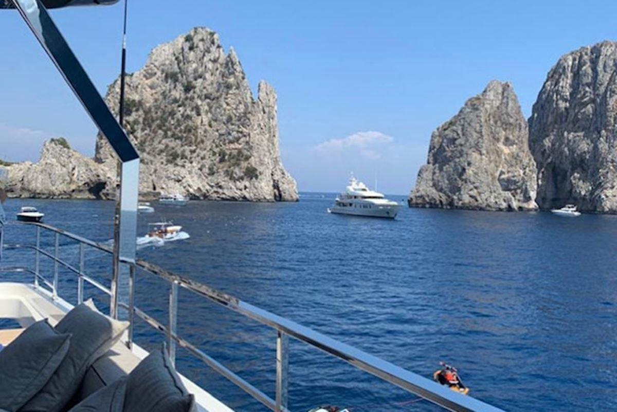 Mariana Papa em Capri