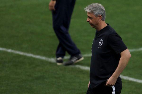 Tiago Nunes, técnico do Corinthians
