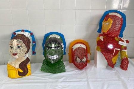 Máscaras para radioterapia no HUB