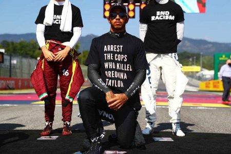 Lewis Hamilton pode sofrer punição da Fórmula 1 por usar camisa antirracista