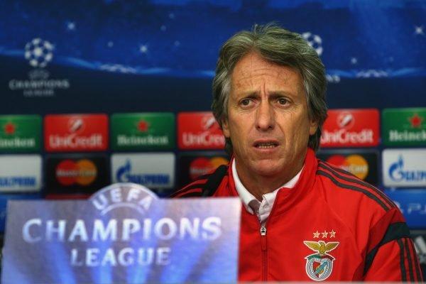 Jorge Jesus Benfica Champions
