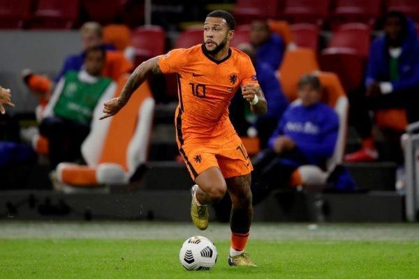 Depay na seleção da Holanda
