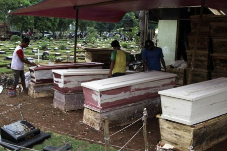 Indonesian Coffin Production