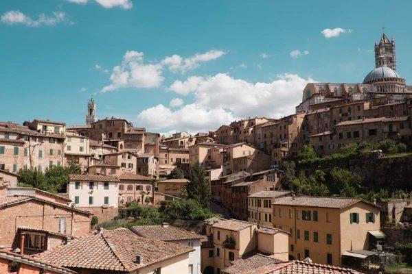 Vista de Siena, na Itália