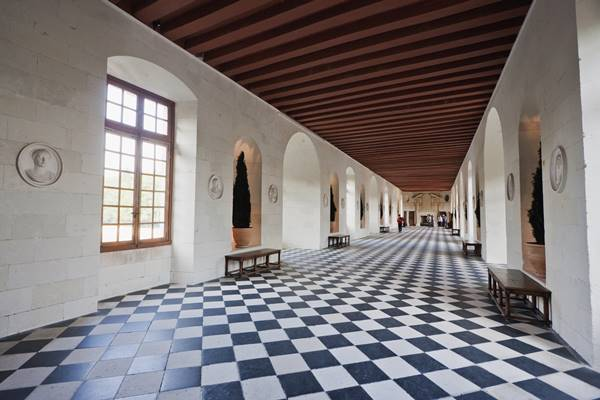 Galeria do Chateau de Chenonceau