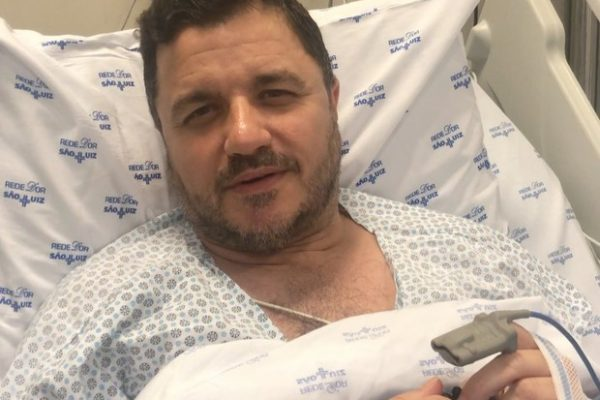 Maurício Manieri passa bem depois de infarto