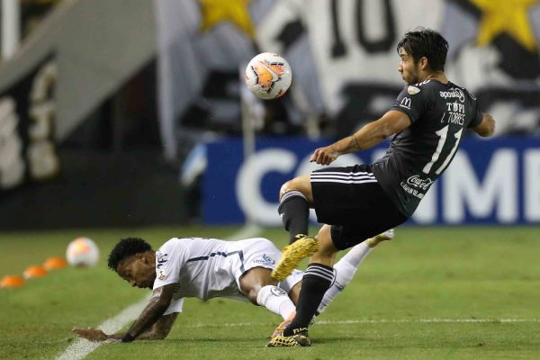 Santos empata na Libertadores