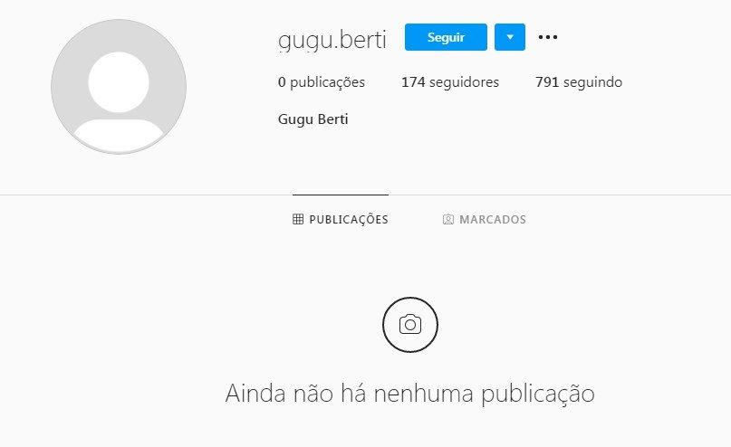 Seguidor que ofendeu PC Oliveira apagou as fotos do perfil
