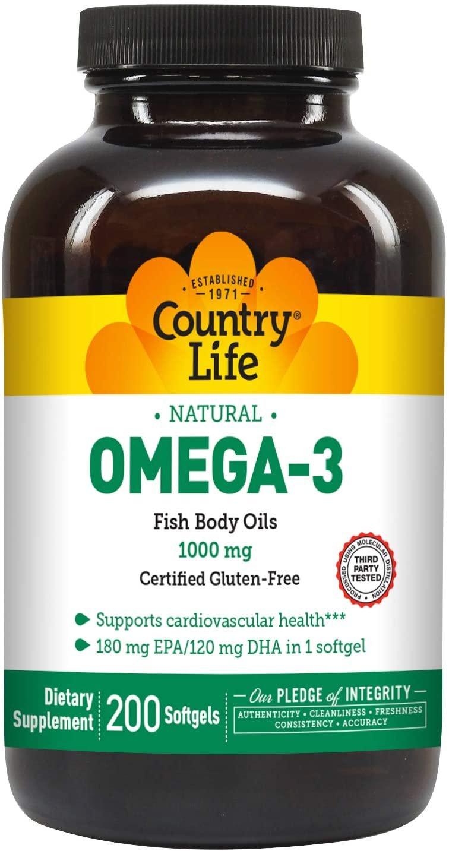 Omega 3 1000mg - Country Life