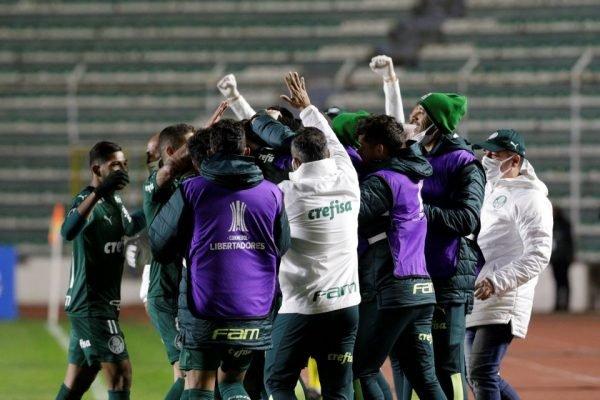 Palmeiras vence na Libertadores