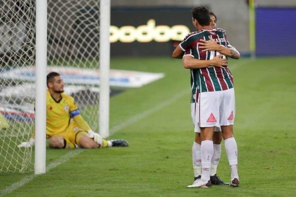 Fluminense vence pela Copa do Brasil