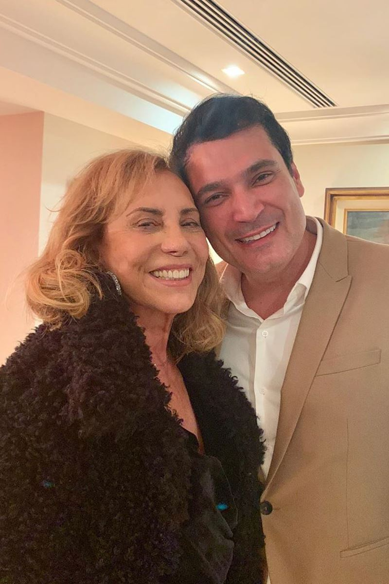 Arlete Salles e Regis Ramos