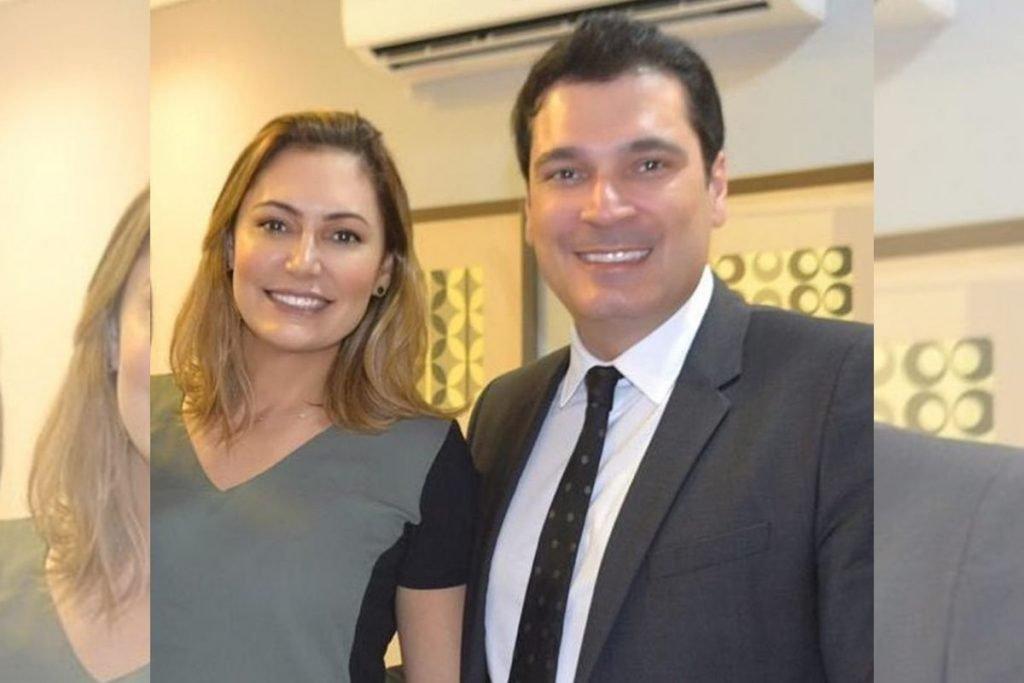 Michelle Bolsonaro e cirurgião plástico Regis Ramos