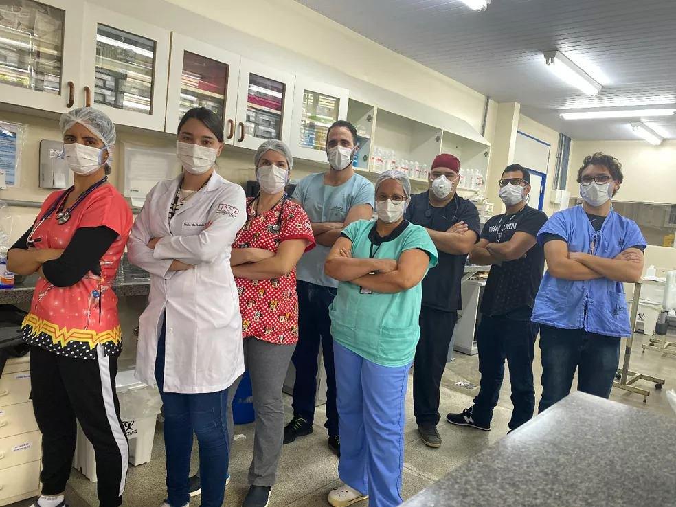 Anestesista e equipamento Hran