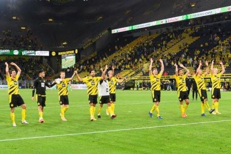 Dortmund vence no Alemão