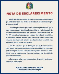 Nota PM Amapá