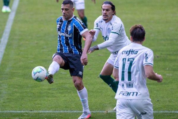 Grêmio empata com o Palmeiras