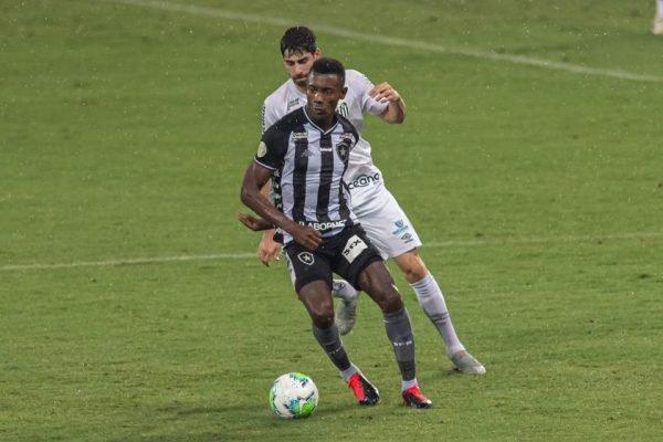 Partida entre Botafogo e Santos