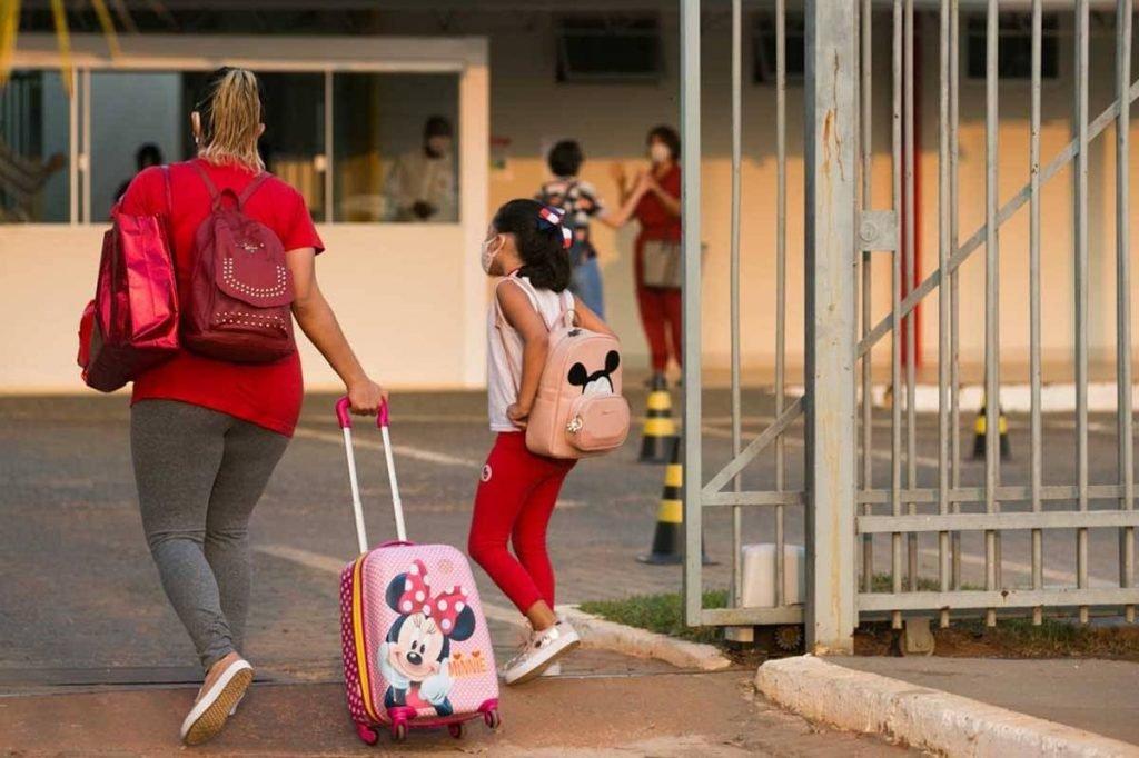 Retorno das aulas presenciais nas escolas particulares