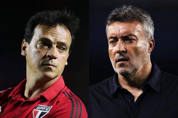 Fernando Diniz e Domènec Torrent