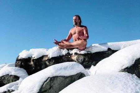Wim Hof Homem de Gelo