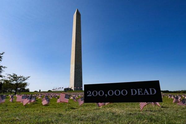 EUA 200 mil mortos