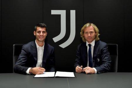 Morata é contratado pela Juventus