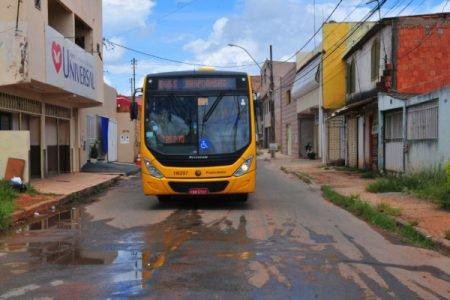 Rua do setor Arapoanga, em Planaltina.
