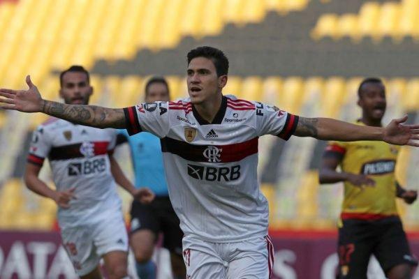 Pedro marca na Libertadores
