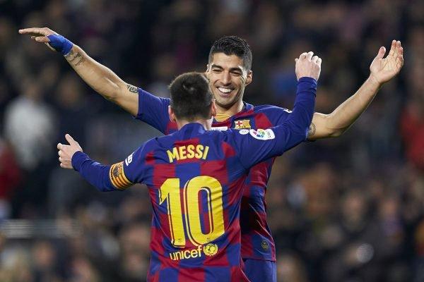 Suárez e Messi