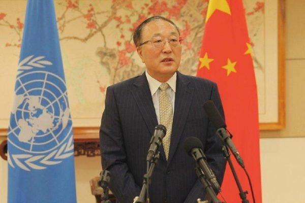 Zhang Jun's, embaixador da China na ONU