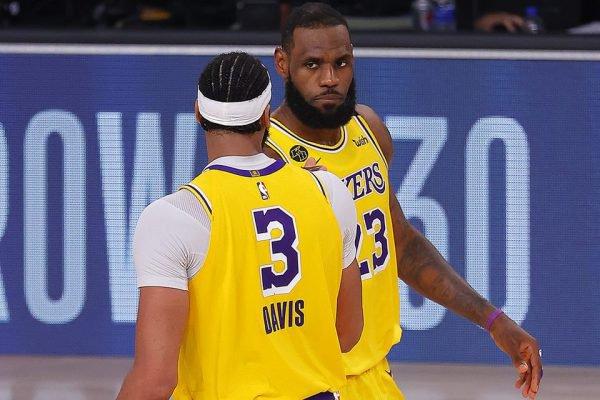 LeBron e Davis Lakers