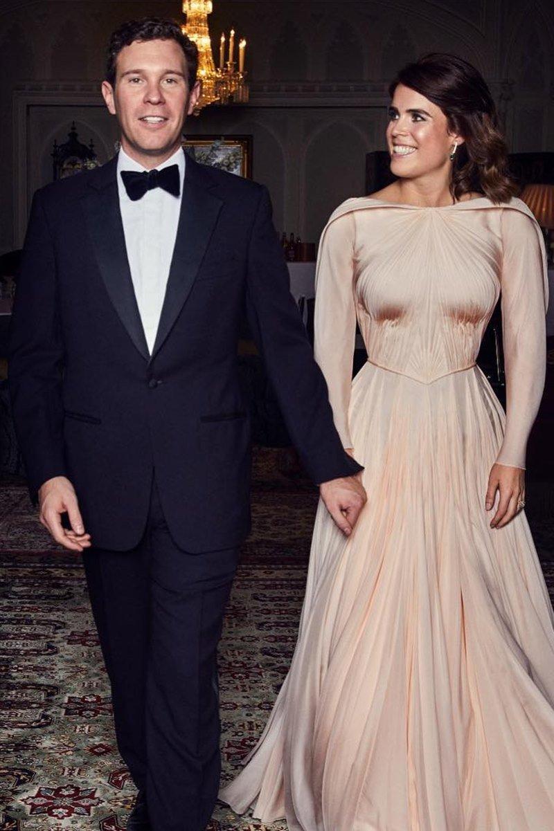 Jack Brooksbank e princesa Eugenie