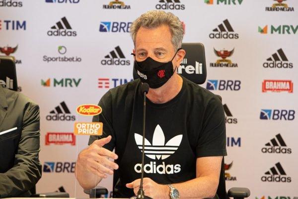Flamengo Landim máscara