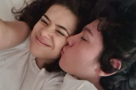 Maisa Silva e o namorado