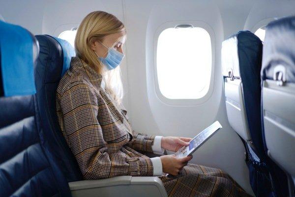 Viagem com máscara