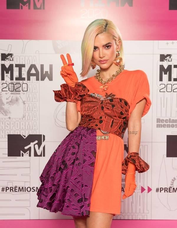 Manu Gavassi no MTV Miaw 2020
