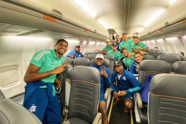 Flamengo avião