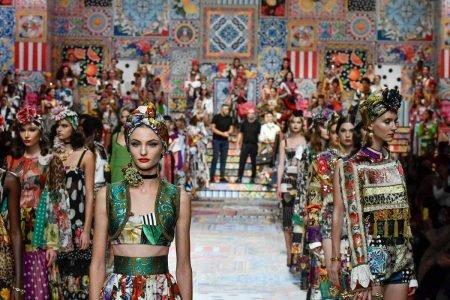 Passarela da Dolce & Gabbana de spring/summer 2021